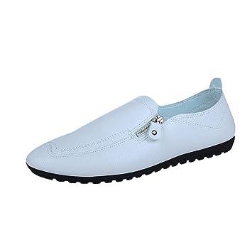 ZHRUI Zapatillas de correr para hombres, zapatillas de deporte Zapatillas con cordones Pisos Chanclas Chanclas Alpargatas Cuña Deportes Gimnasio ...
