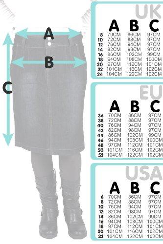 b1dfe1ccaf Cindy H Long Dark Wash Denim Skirt SKIRT94 Womens Maxi Full Length Jean  Skirt