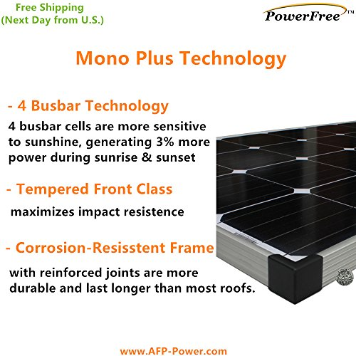 MonoPlus-Solar-Cell-150w-150-Watt-Panel-Charging-Kit-for-12v-Battery-RV-Boat