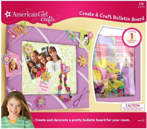 American Girl Crafts Create Craft Bulletin Board - Scrapbook Bulletin Board