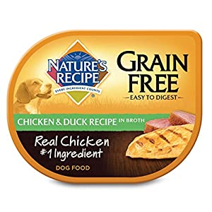 Nature's Recipe Wet Dog Food Grain Free Chicken & Duck Recipe In Broth, 2.75 oz, 12 ct