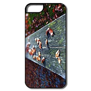 IPhone 5S Cases, Leaves Bench White/black Cases For IPhone 5S