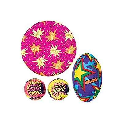Amscan 391952 Favors Items Party Balls, One Size, Multicolor: Kitchen & Dining