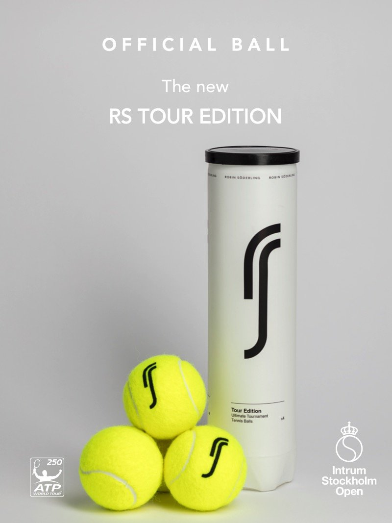 RS Tour Edition (Full case 18 cans) Premium pelota de tenis por ATP Champion Robin Soderling: Amazon.es: Deportes y aire libre