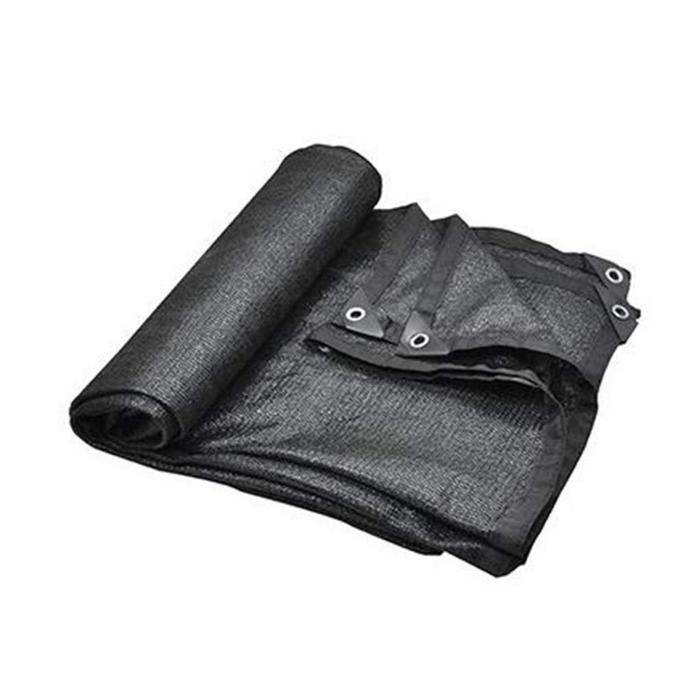 Noir 5x8m ZEMIN Filet D'ombrage 4 Broches Ombre Refroidir Utilisation Agricole Sol De Couverture étanche à La Poussière, Taille Personnalisable (Couleur   Noir, Taille   5x5m)