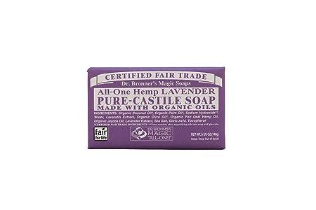 Bar Soap, Organic, Lavender, 5 oz Multi-Pack