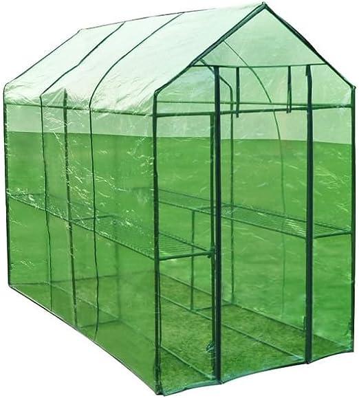 vidaXL Invernadero XL de Acero Caseta Cultivo de Plantas para ...