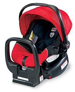 britax e9lg12k chaperone infant car seat red baby. Black Bedroom Furniture Sets. Home Design Ideas