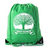 Mato & Hash Family Reunion Gift Bags for Family Reunion Favors | Drawstring Bags