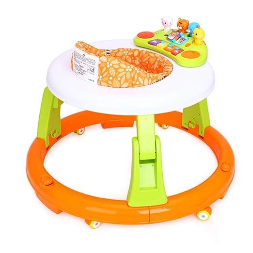 Andador de bebé de primer paso Andador para bebés con bandeja de ...