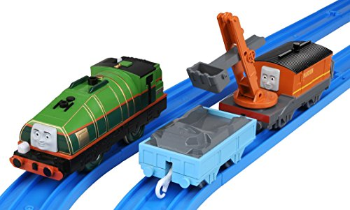 TAKARA TOMY Plarail Thomas TS-18 Gator & Marion (Thomas And Friends Marion)