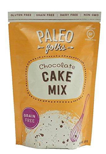 PALEO FOLKS Chocolate Cake Mix, 226 GR ()