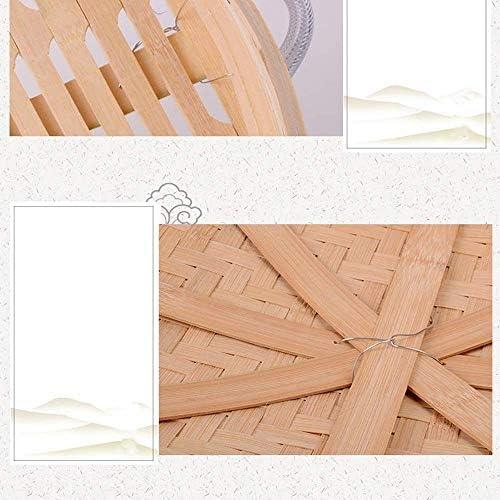 NBVCX Accessoires pour la Maison Cuisine Bambou Vapeur Maille antiadhésif Pad Forme Ronde boulettes Tapis brioches à la Vapeur Cuisson pâtisserie Dim Sum