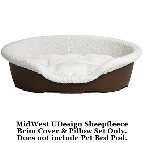 MidWest Quiet Time U-Design Small Sheepfleece Pod Cover and