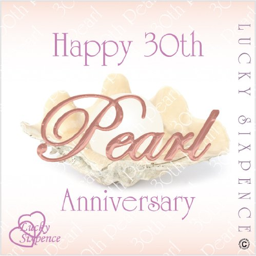 Lucky Sixpence For 30th Pearl Wedding Anniversary Amazoncouk