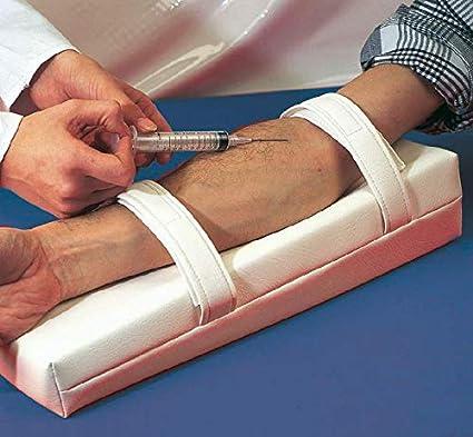 Cojín de inyección con brazo Fijación 30 cm: Amazon.es ...