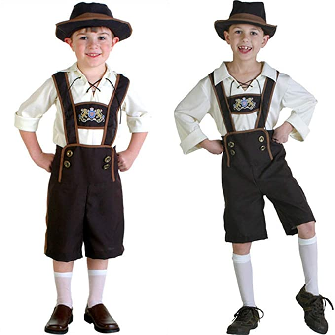 Ocamo Niños Disfraz de Oktoberfest, Niños Chica Niño Moda ...