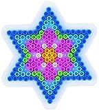 Hama - 270 - Loisir Créatif - Midi Plaque - Petite Étoile