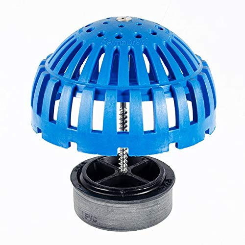 (3 Inch Permadrain Locking Dome Strainer Kit. Fits Zurn, Oatey, Wade, Josam, and Other Drain Brands)
