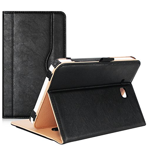 ProCase Samsung Galaxy Tab E Lite 7.0 Case/Tab 3 Lite 7 Case - Stand Folio Case Cover for Galaxy Tab E Lite 7-inch Tablet/Tab 3 Lite 7, with Multiple Viewing Angles, Document Card Pocket (Black)