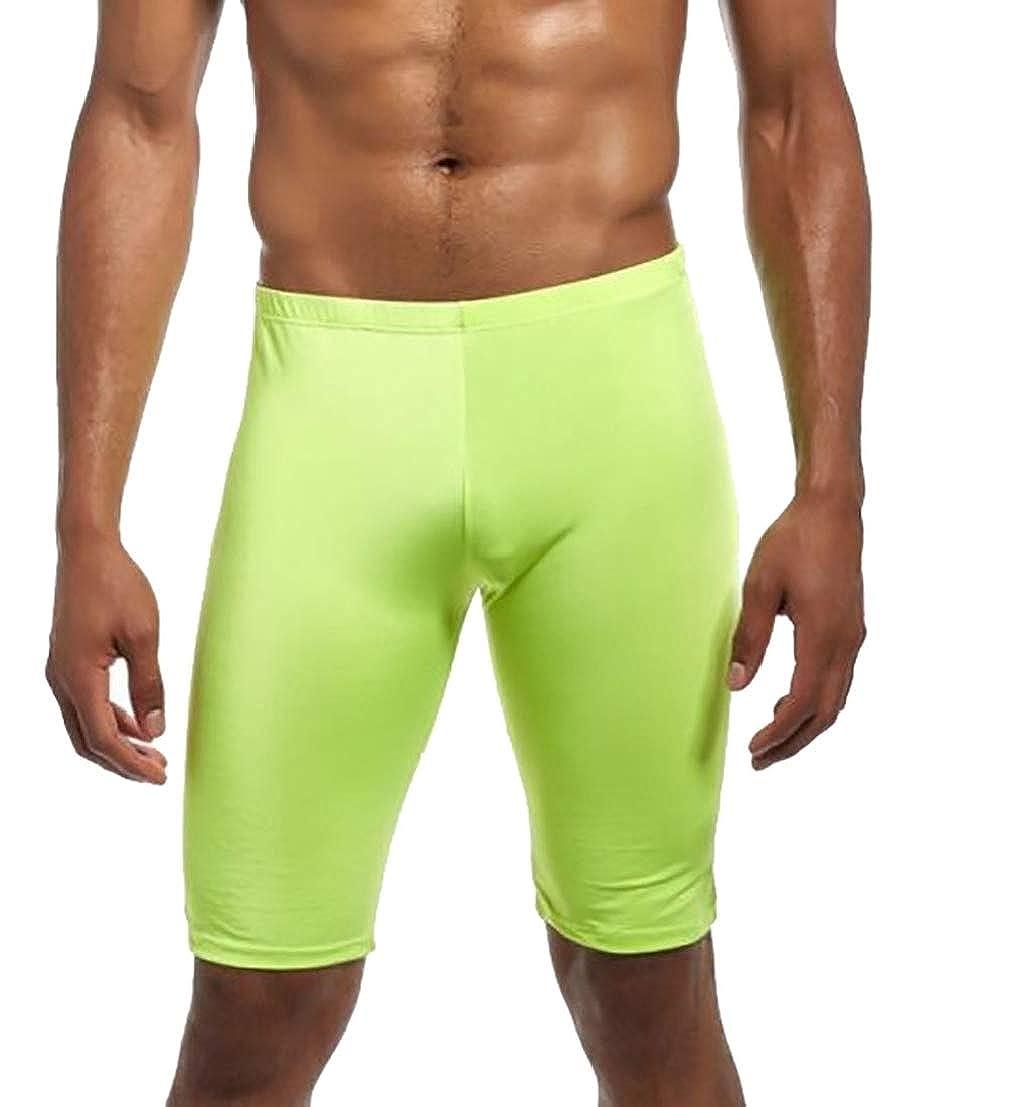 UUYUK Men Summer Workout Gym Training Running Tights Shorts Swimwear
