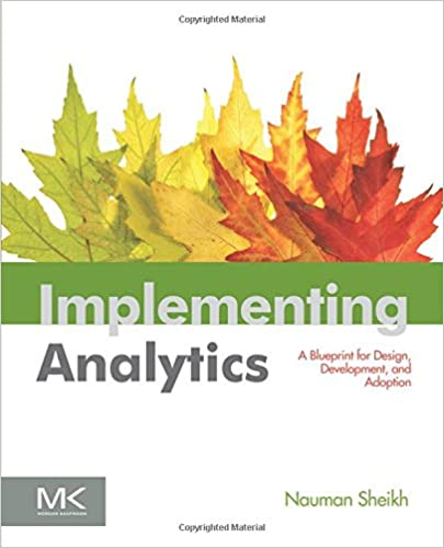 Implementing Analytics: A Blueprint for Design, Development, and Adoption (The Morgan Kaufmann Series on Business Intelligence)