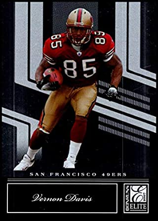 34aa7fd5d29 2007 Donruss Elite  85 Vernon Davis NM-MT San Francisco 49ers Official NFL  Football