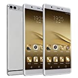 "Unlocked 6.0"" IPS Anroid 5.1 Smartphone Fast Quad Core Dual Sim Dual Standby Cellphone GPS"