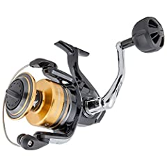 True durability to tackle nearly anything in the salt best describes the new Shimano Socorro SW spinning reels. Equipped with long-lasting hagane gearing, the Socorro reels give anglers the strength for both inshore and offshore action, and w...