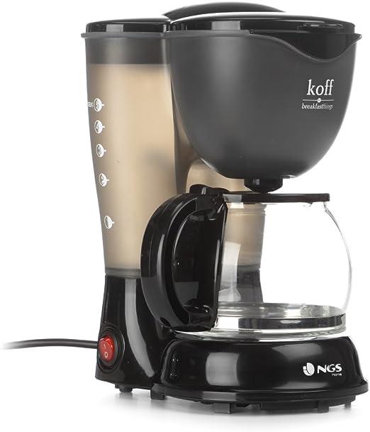 NGS KOFF - Cafetera de filtro permanente, 4-6 tazas: Amazon.es: Hogar