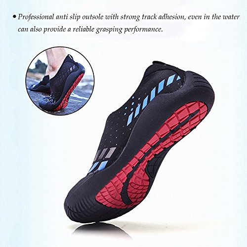 for Dry Surf Beach Shoes Quick Shoes Pool Aerobics Socks Water Aqua Yoga Water Dots Swim Shoes Mens Fivefingers silver 7YnwP