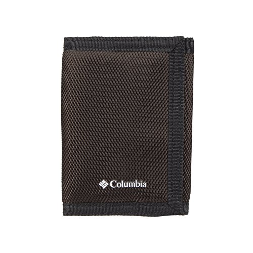 Columbia Tactical Wallets for Men - Sport RFID Blocking Nylon Trifold with Velcro with ID Window and Cash Pockets,-brown, 1size