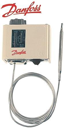 Termostato KP 73 máx. Temperatura de 15 °C Sensor 6,4 x 95 mm -25 ...