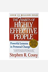 7 Habits of Highly Effective People by Stephen. R. Covey (2005) Paperback Paperback