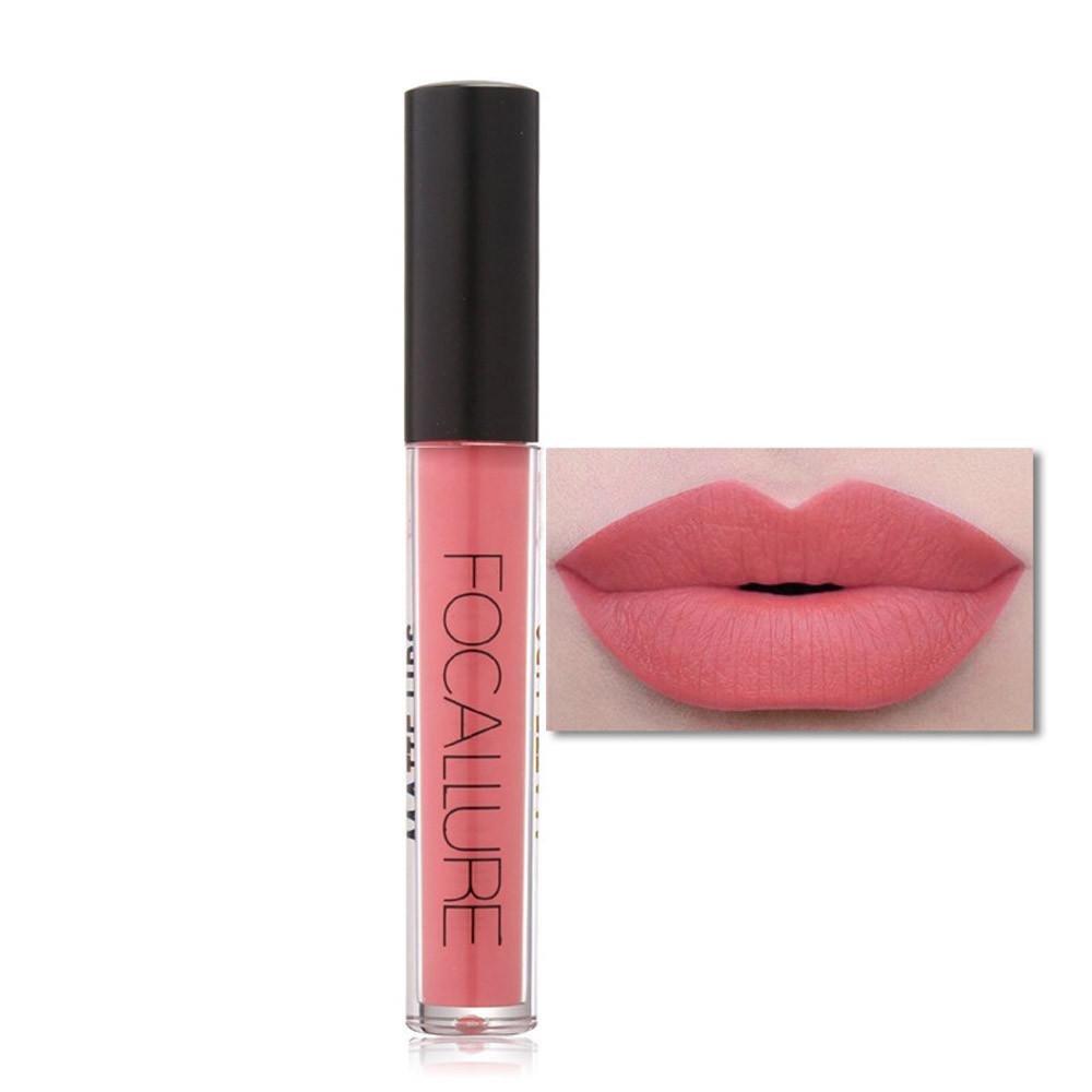 Perman Lip Gloss Cosmetics Lips Matte Fashion Lipstick (11#)