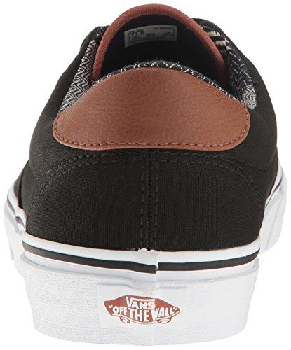 Black Unisex Vans 59 Mix Shoes Material Skate Era 8SxxqCw1