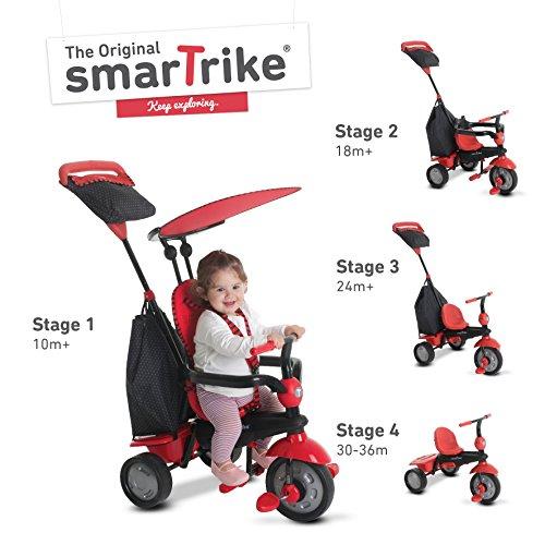 smarTrike Glow 4 in 1 Baby Trike