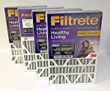 3M Filtrete Allergen reduction Home Furnace Air Filter 16x25x4 DP01DC-4 Box of 4