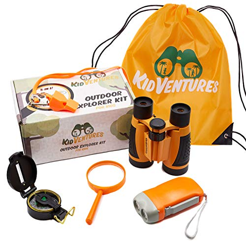 KidVentures Outdoor Exploration Kit - Kids Explorer Kit, Adventure Kit for Kids,...