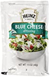 Heinz Blue Cheese Dressing, Single Serve, 1.5 oz. sachet, Pack of 60