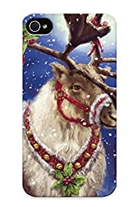 meilinF000New Cute Funny Reindeer Awesome Art Case Cover/ iphone 6 4.7 inch Case Cover For LoversmeilinF000
