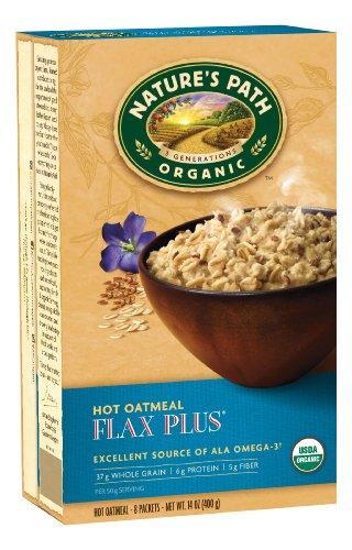 Nature's Path OrganicFluidax Plus Hot Oatmeal, 8 Count