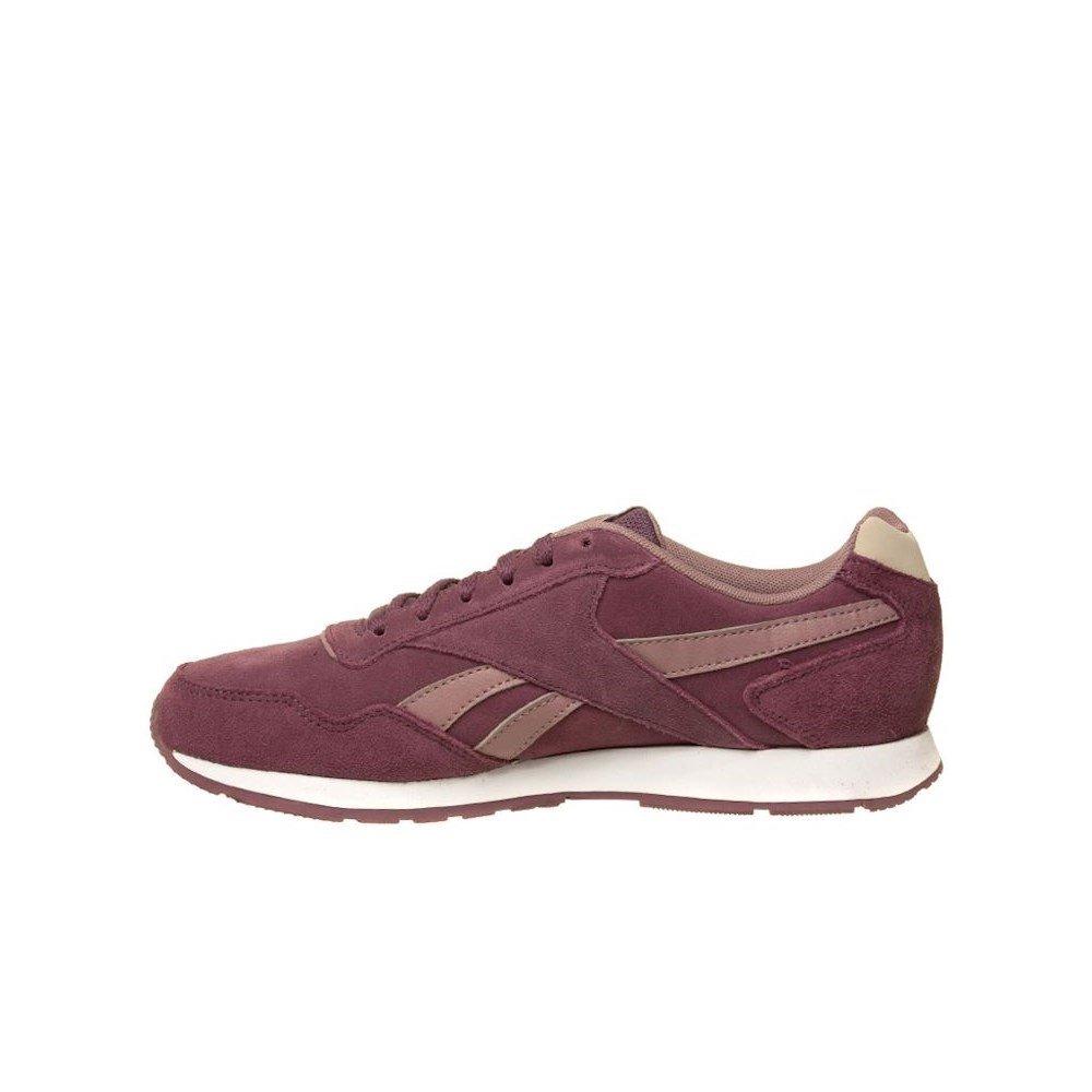 Reebok Damen Royal Glide Sneaker Dunkelviolett Plum (Cc Wash Plum Dunkelviolett / Smoky Orchid / Stucco / Weiß / S) 471623