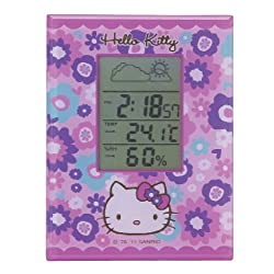 Hello Kitty Bloom - Digital Alarm Clock & Weather Station