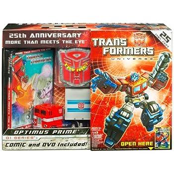 transformers optimus prime 25th anniversary pack