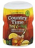 Country Time Half Lemonade Half Iced Tea, 19-Ounce (Pack of 4)