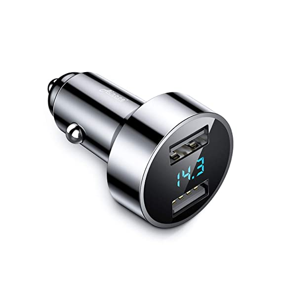 The Best 2-port Usb Car Charger Led Voltmeter Adapter For Iphone Samsung Lg Mobile Phone Cellphones & Telecommunications Mobile Phone Accessories