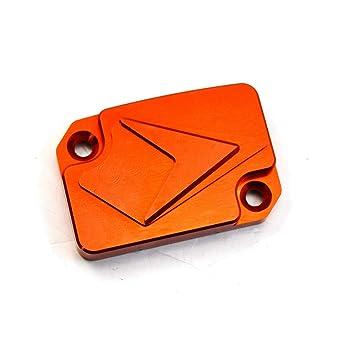 Motos, accesorios y piezas Tapa de la tapa del depósito del líquido de frenos delantero naranja de la motocicleta CNC para KTMDUKE 125/200/250/390 todo el año Motores y piezas
