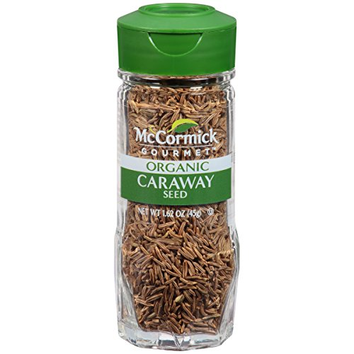 McCormick Gourmet Organic Caraway Seed, 1.62 - Caraway Seeds Rye Bread