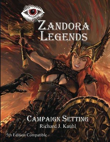 Price comparison product image Zandora Legends: Campaign Setting
